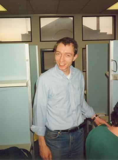 Andy Spencer PhD 1992 in German at Ohio State