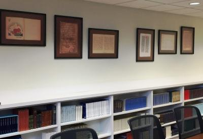 Seminar Room in the Department of Germanic Languages and Literatures at Ohio State
