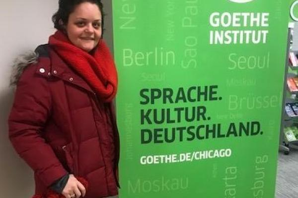 Uskokovic attends 2017 Goethe Workshop