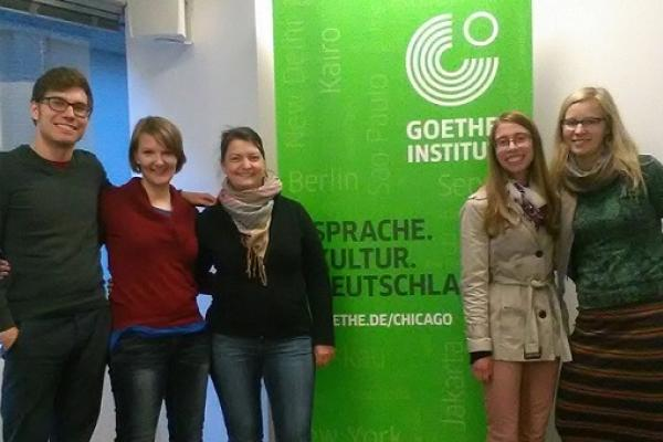 2016 TA visit to the Goethe Institute