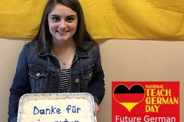 Haley 2017 Future Teacher of German AATG Ohio State