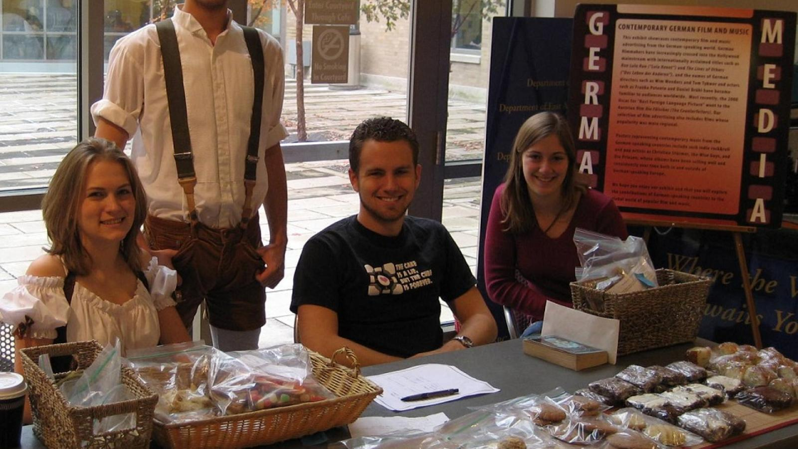 German Club Bake Sale at Ohio State