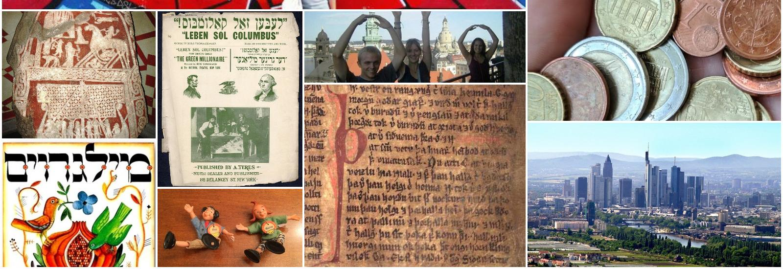 Collage of activities and artifacts