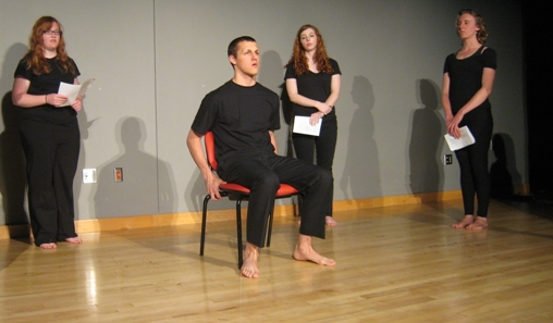 Photo of the 2010 GLL Theater Production - The Hamletmachine.