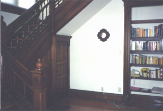 Photo of the foyer of the OSU Max Kade German House.