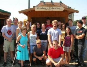 Photo of the 2006 Dresden Summer Program Study Abroad Group.